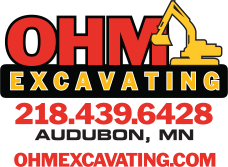 ohm excavating logo